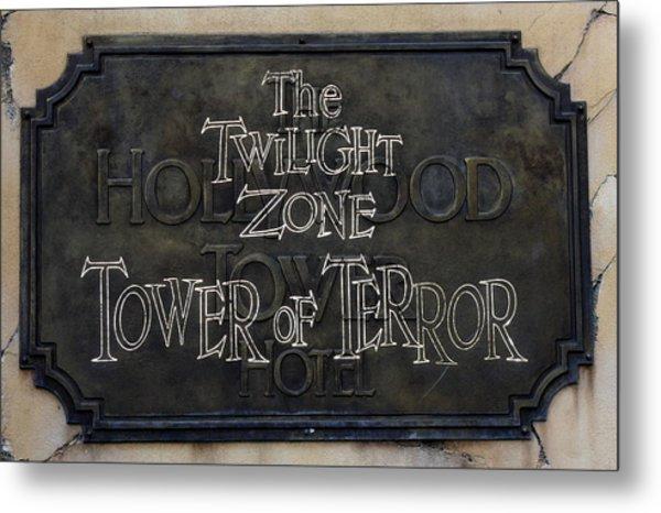 Tower Of Terror Metal Print