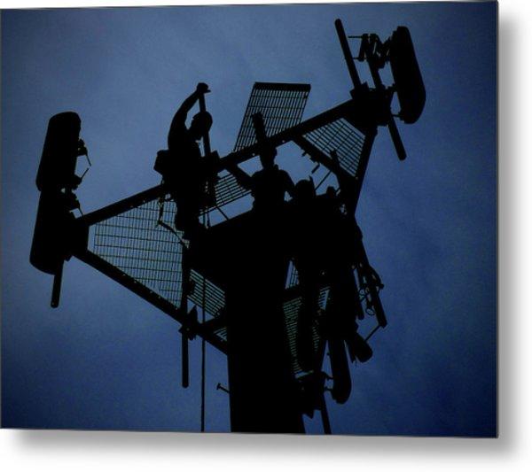 Tower Top Metal Print