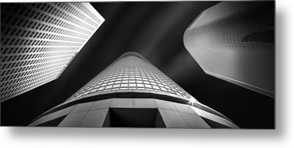 Tower Wars Metal Print