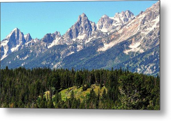 Towering Teton Range  Metal Print