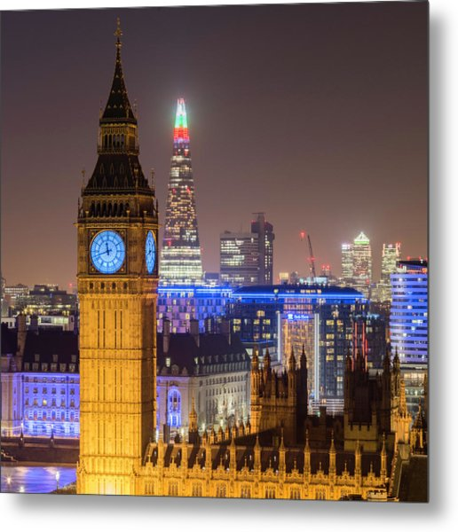 Towers Of London Metal Print