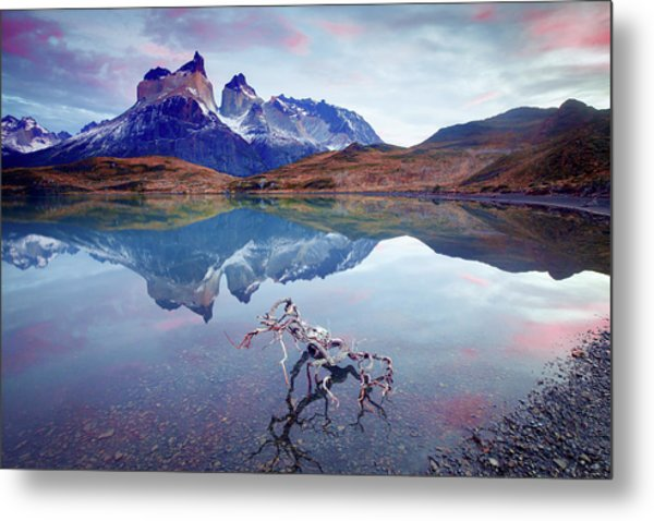 Towers Of The Andes Metal Print