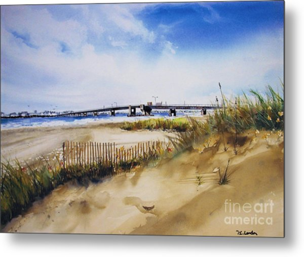 Townsends Inlet Metal Print