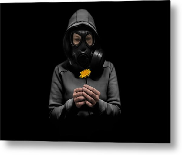 Toxic Hope Metal Print