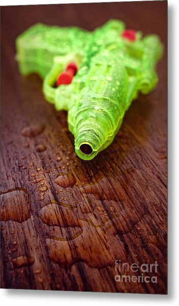Toy Water Pistol Metal Print
