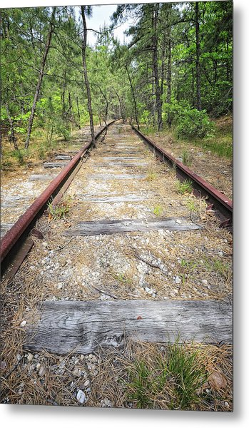 Tracks To Nowhere Metal Print by Tim Doubrava
