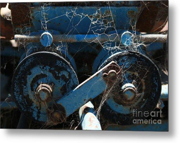 Tractor Engine IIi Metal Print