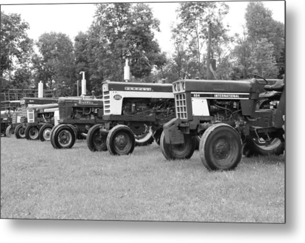 Metal Print featuring the photograph Tractor Show 2016 by Rick Morgan