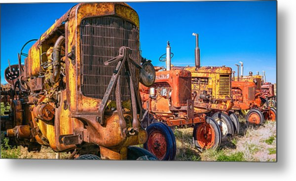 Tractor Supply Metal Print
