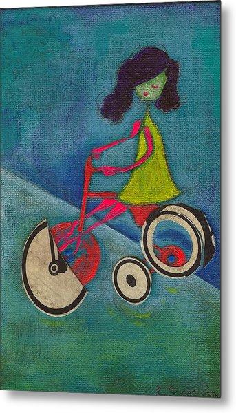 Tracy Cycles Metal Print by Ricky Sencion
