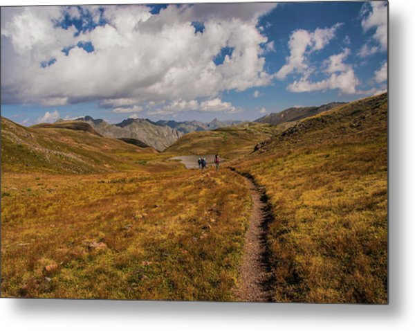 Trail Dancing Metal Print