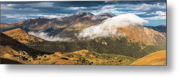 Trail Ridge Overlook Metal Print by T-S Fine Art Landscape Photography