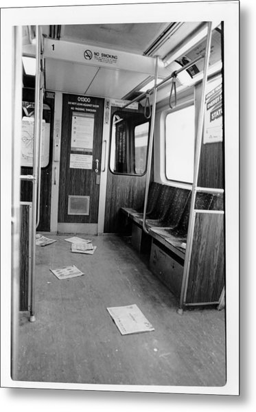 Train Car  Metal Print