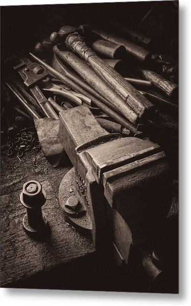 Train Driver's Tools Metal Print