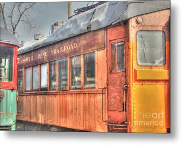 Train Series 5 Metal Print by David Bearden