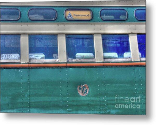 Train Series 8 Metal Print by David Bearden