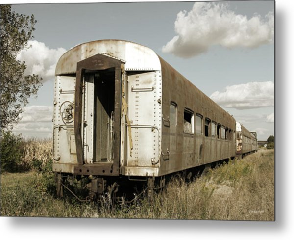 Train To Nowhere Metal Print