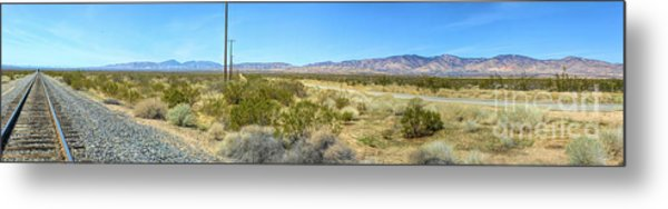 Train To Tehachapi Metal Print