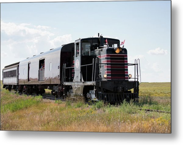 Metal Print featuring the photograph Train Tour by David Buhler