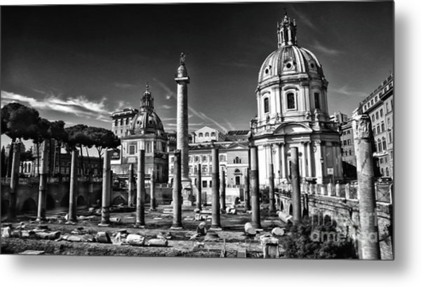 Trajan's Forum - Forum Traiani Metal Print