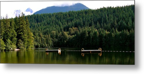 Tranquil Alice Lake Metal Print