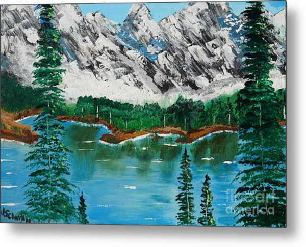 Tranquil Countryside  Metal Print