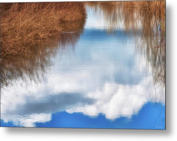 Metal Print featuring the photograph Tranquil Illusion by Dee Browning