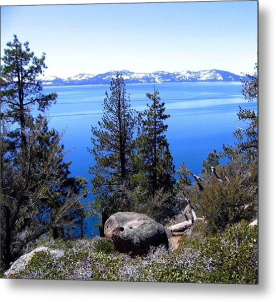 Tranquil Lake Tahoe Metal Print