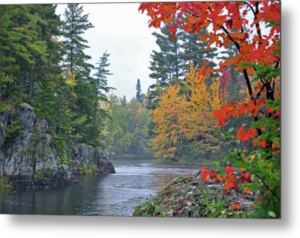 Autumn Tranquility Metal Print