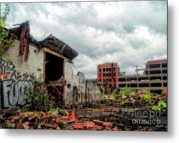 Apocalypse Detroit 2 Metal Print
