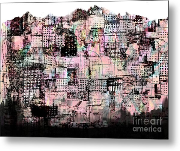 Transition 4  Metal Print