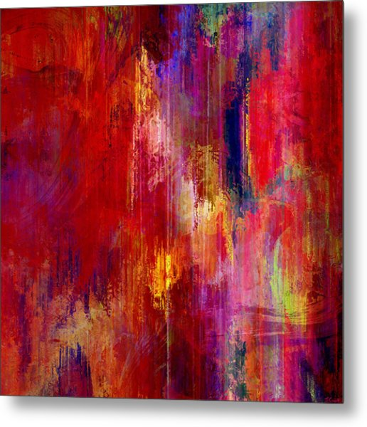 Transition - Abstract Art Metal Print