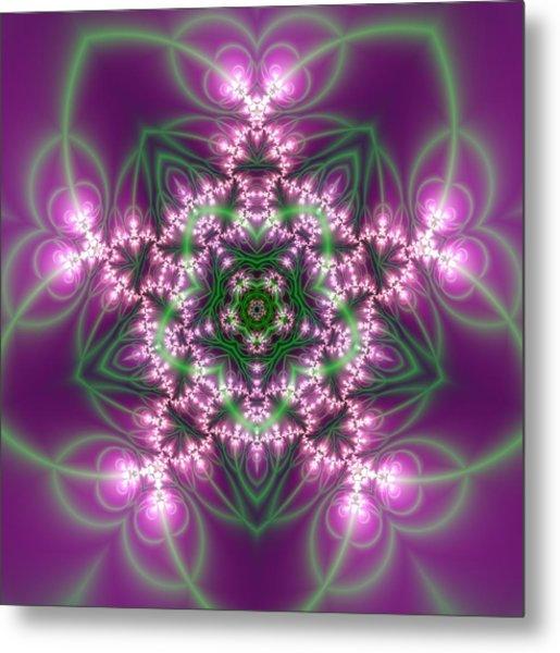 Transition Flower 5 Beats Metal Print