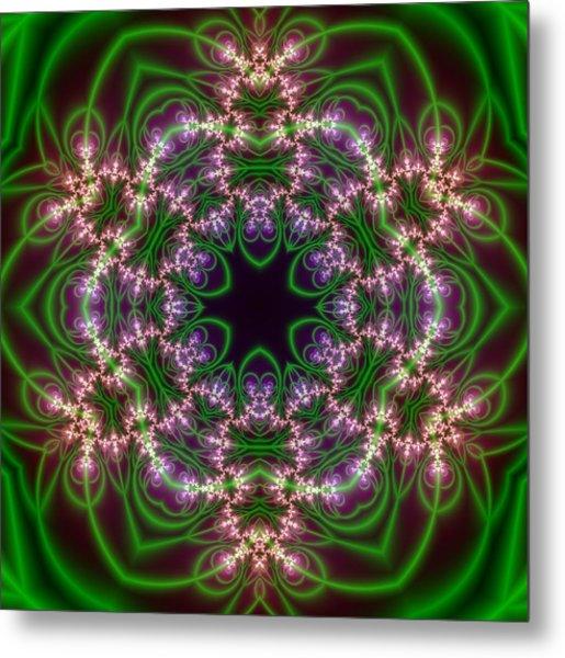 Transition Flower 6 Beats Metal Print