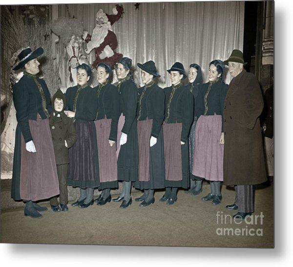 Trapp Family Singers 1945 Metal Print
