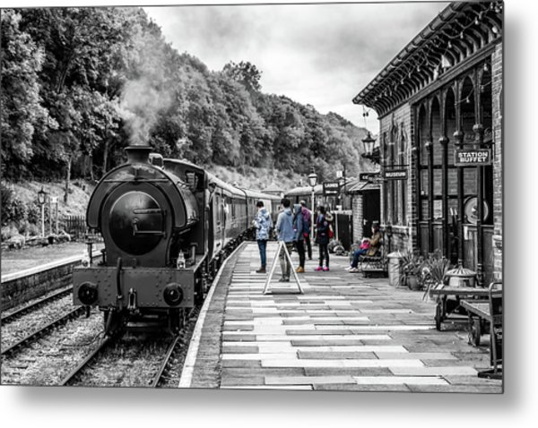 Travellers In Time Metal Print