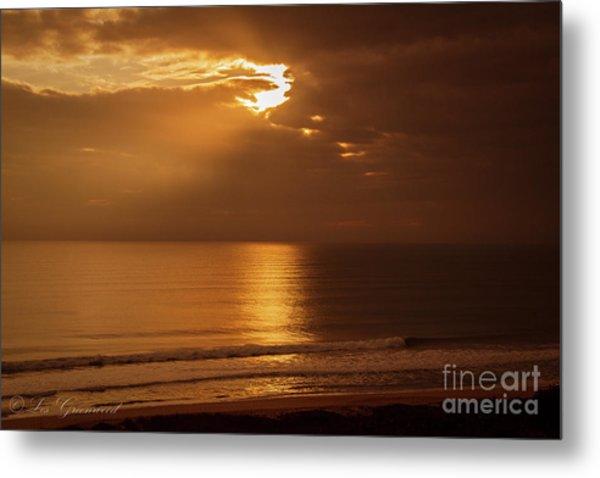 Treasure  Coast Sunrise Metal Print