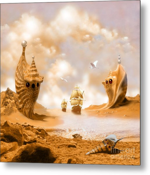Treasure Island Metal Print