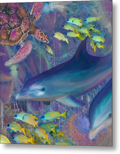 Treasures Of The Caribbean Metal Print