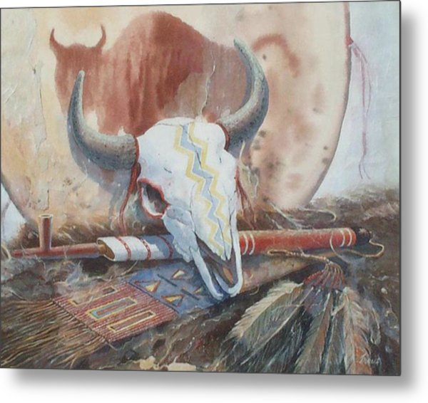 Treaties Remembered Metal Print by Don Trout