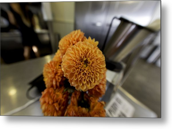 Treats At The Ice Cream Parlor Metal Print