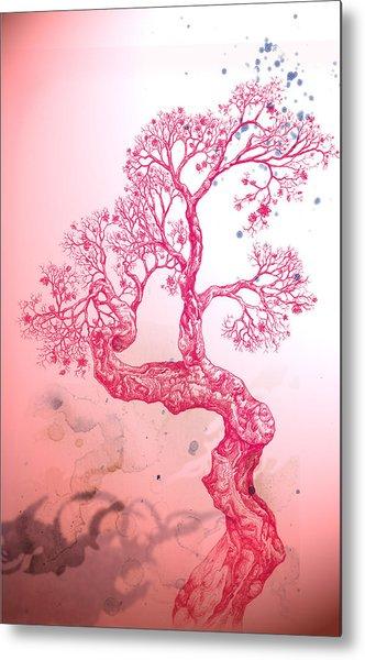 Tree 14 Hybrid 1 Metal Print