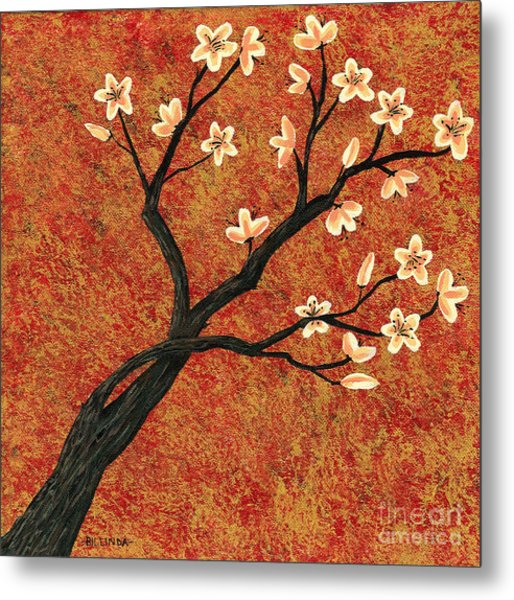 Tree Blossoms Metal Print