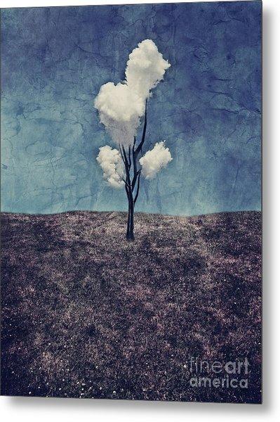 Tree Clouds 01d2 Metal Print