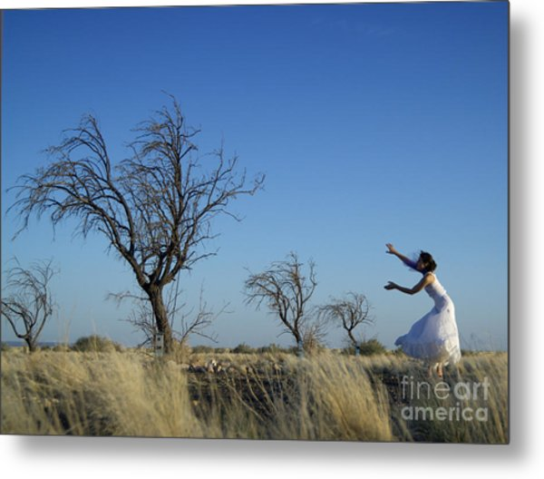 Tree Echo Metal Print