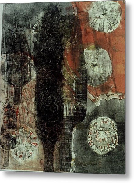 Tree Fossils Metal Print by Angela Dickerson
