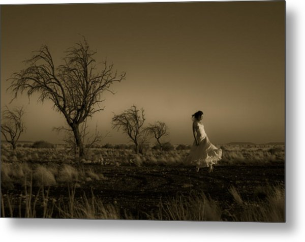 Tree Harmony Metal Print