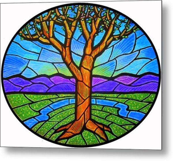 Tree Of Grace - Spring Metal Print