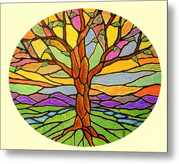 Tree Of Grace 2 Metal Print