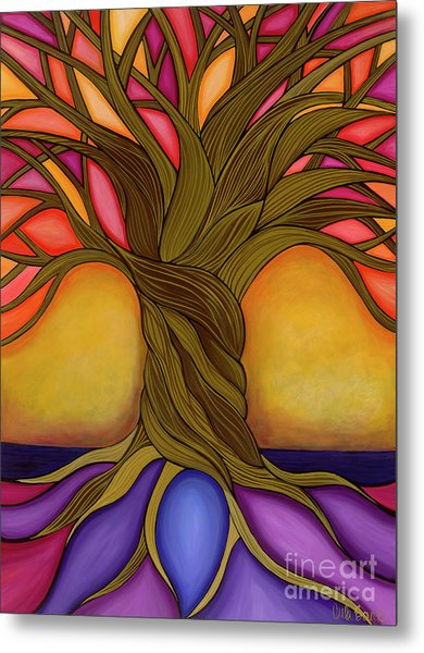 Metal Print featuring the painting Tree Of Life by Carla Bank